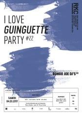 I ♥ GUINGUETTE PARTY #22 – BONGO JOE DJs - Rocking Chair Vevey