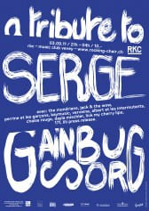 A tribute night to Serge Gainsbourg - Rocking Chair Vevey