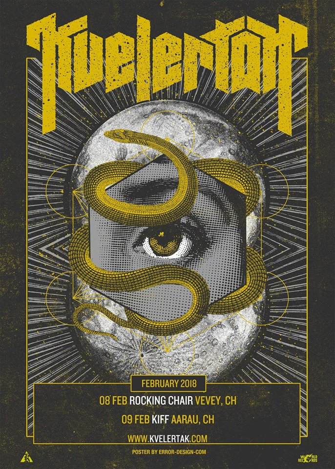 KVELERTAK (NO) + Impure Wilhelmina (CH) - Rocking Chair Vevey