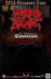 MORBID ANGEL (US) + GUESTS – MORBID ANGEL COVENANT EUROPE 2014 TOUR + DARKRISE (CH) - Rocking Chair Vevey