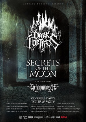 DARK FORTRESS (DE) + SECRETS OF THE MOON (DE) + SCHAMMASCH (CH) - Rocking Chair Vevey