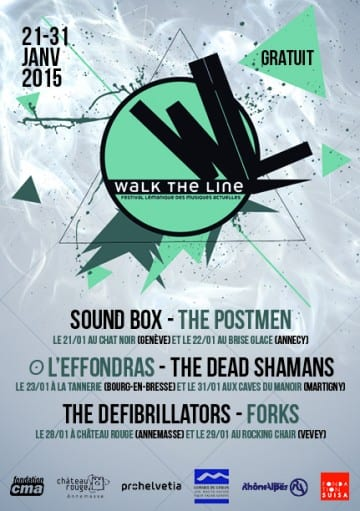 WALK THE LINE – Forks + The Defibrillators - Rocking Chair Vevey