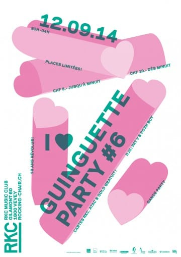 I ♥ GUINGUETTE #6 - Rocking Chair Vevey