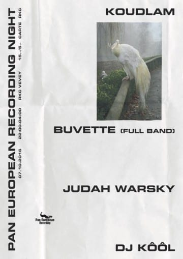 KOUDLAM (F) + BUVETTE (CH) + JUDAH WARSKY (F) - Rocking Chair Vevey