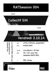 RATSESSION IV : Carte blanche au COLLECTIF SIN - Rocking Chair Vevey