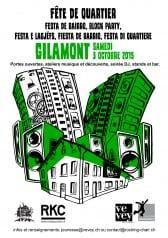 FÊTE DU QUARTIER DE GILAMONT - Rocking Chair Vevey