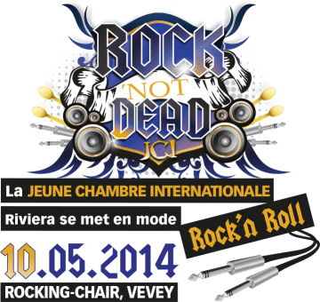 Rock'Not Dead - Rocking Chair Vevey